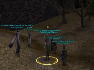 Kinship Members, Eagles of Thorondor @Meneldor Server